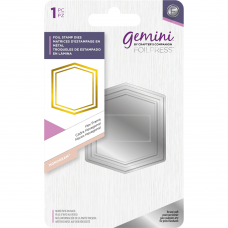 Gemini Elements - Foil Stamp Die - Hex Frame
