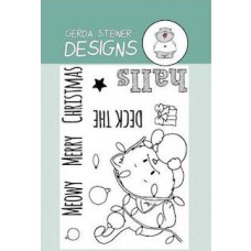 Gerda Steiner Designs - Deck the Halls 3x4 Clear Stamp Set