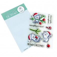 Gerda Steiner Designs - Christmas Kitten - Clear Stamps 4x6