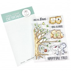 Gerda Steiner Designs - Fall In Love - Clear Stamps 4x6