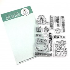 Gerda Steiner Designs - Monster Fun - Clear Stamps 4x6