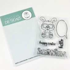 Gerda Steiner Designs - Nerdy Easter Bunny - Clear Stamps 3x4