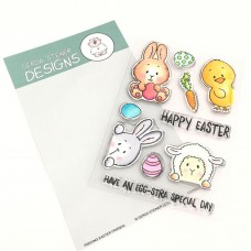 Gerda Steiner Designs - Peeking Easter Friends - Clear Stamps 4x6
