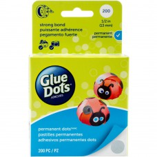 Glue Dots Clear 200Stk.