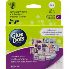 Glue Dots Clear 600 Stk.