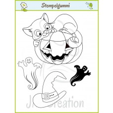JM Creation - Halloween 1 - Cling Stamp