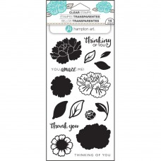 Hampton Art - Flower Amaze - Clear Stamps 4x8