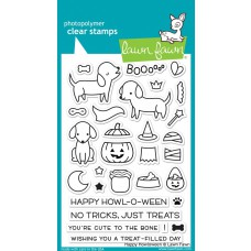Lawn Fawn - happy howloween - Clear Stamp 4x6