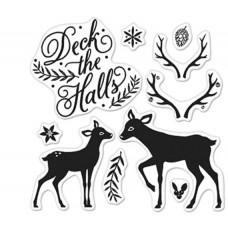 Hear Arts Clear Stamps By Lia 3X3 - Deck The Halls