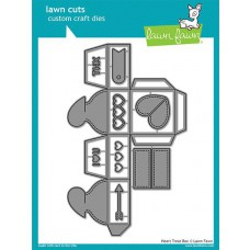 Lawn Fawn - Heart Treatbox - Stanze