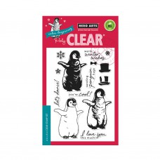 Hero Arts - Color Layering Baby Penguin - Clear Stamps