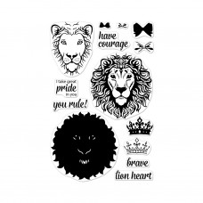 Hero Arts - Color Layering Brave Lion - Clear Stamps