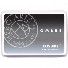 Hero Arts Ombré Ink Pad - Gray To Black