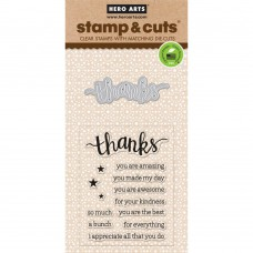 Hero Arts Stamp & Cuts - Thanks