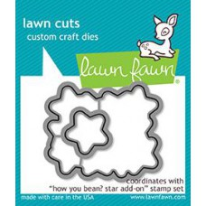 Lawn Fawn - How Have You Bean? Star Add-On - Stanzen