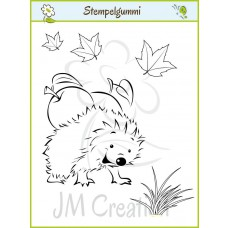 JM Creation - Igel Ignaz - Cling Stamp - Cling Stamp