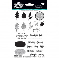 Illustrated Faith - Gratitude Documented - Clear Stamps 4x6