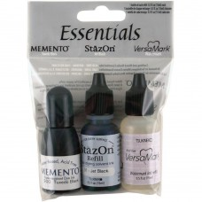 Essentials Inkers 3/Pkg - Schwarz