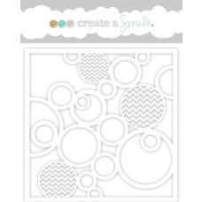 Create A Smile Stencil - In Circles