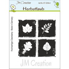 JM Creation - Herbstlaub - Clear Stamp