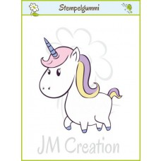 JM Creation - Dickes Einhorn - Cling Stamp