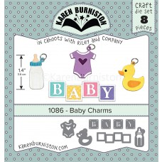Karen Burniston - Baby Charms Stanzen