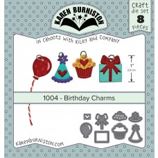 Karen Burniston - Birthday Charms Stanzen