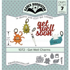 Karen Burniston - Get Well Charms Stanzen