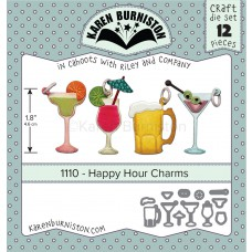Karen Burniston - Happy Hour Charms Stanzen