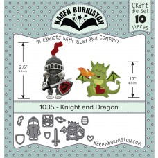 Karen Burniston - Knight and Dragon Stanzen