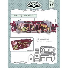 Karen Burniston - Tag Book Pop-up