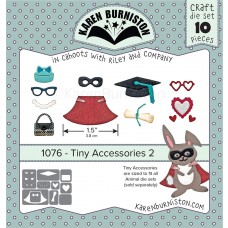 Karen Burniston - Tiny Accessories 2 Stanzen