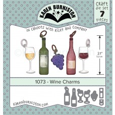 Karen Burniston - Karen Burniston - Wine Charms Stanzen