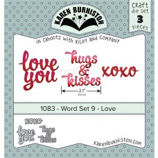 Karen Burniston - Word Set 9 - Love