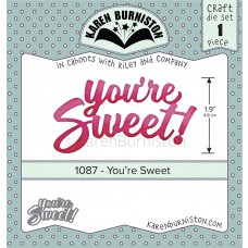 Karen Burniston - You're Sweet Stanzen