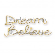 La-La Land Crafts - Dream - Believe - Cuts