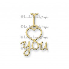 La-La Land Crafts Dies - I Heart You