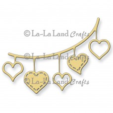 La-La Land Crafts Dies - Open Hearts Banner