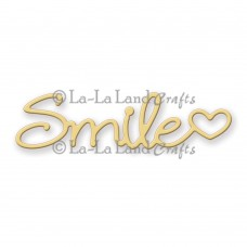 La-La Land Crafts Dies - Smile