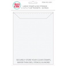 Avery Elle - Stamp & Die Storage Pockets - Large 50/stk.