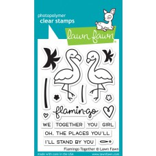 Lawn Fawn - Flamingo Together Clear Stamp