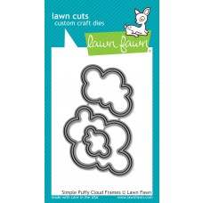 Lawn Fawn - Simple Puffy Cloud Frames Die
