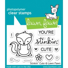 Lawn Fawn - Stinking' Cute Clear Stamp