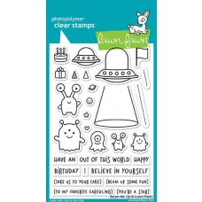 Lawn Fawn - Beam Me Up - Clear Stamps 4x6
