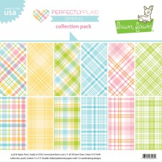 Lawn Fawn - Collection Pack 12x12 - Perfectly Plaid Spring