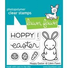 Lawn Fawn - Hoppy Easter - Clear Stamp 2x3