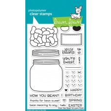 Lawn Fawn - How You Bean? - Clear Stamp 4x6
