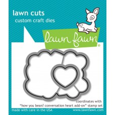 Lawn Fawn - How You Been? Conversation Heart Add-On - Stanze