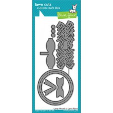 Lawn Fawn - Large Wreath - Stanze