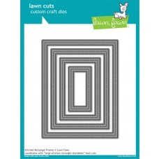 Lawn Fawn - Lawn Cuts - Stitched Rectangle Frames